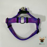 peitoral harness no pull 2in1 purple