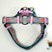 peitoral cão no pull dog harness
