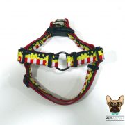 peitoral no pull dog harness sweet popcorn frente