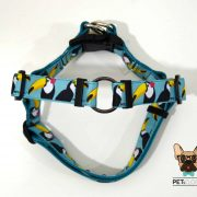peitoral cão no pull harness