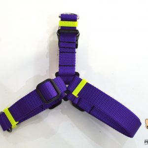 no pull 2in1 purple and fluo yellow