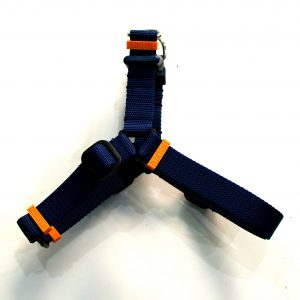no pull 2in1 navy and orange